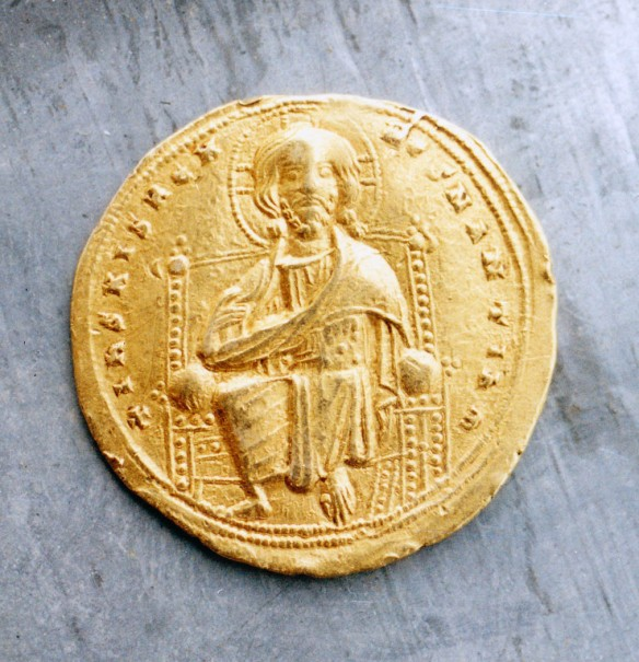 2. Roman III. Argir, Grabovnik, avers