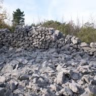Primjer izgradnje suhozida od kameng nasipa tumula, Ljubuški