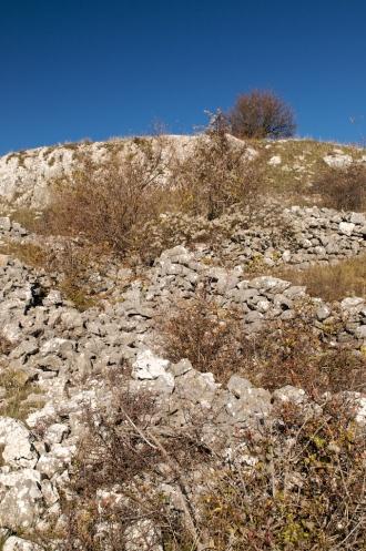 Suhozidne formacije Gat