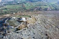 Gradinsko naselje Veliki Žuželj, Miletina, zračni snimak