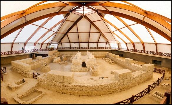 Detalj zaštićenog arheološkog nalazišta (foto Đ. Bošković)