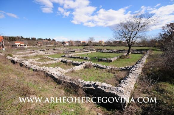 Pogled na lokalitet Gračine sa jugozapada
