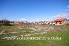 Pogled na istraženi dio rimskog kompleksa Gračine sa istoka, stanje ožujak 2009.