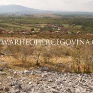 Pogled s Guvnina prema Domanovićima i Bivoljem brdu