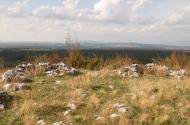 Prostor zapadnog platoa na kojem je pronađen eneolitički materijal