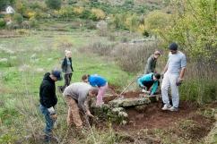 Detalj s istraživanja kasnoantičkih grobnica