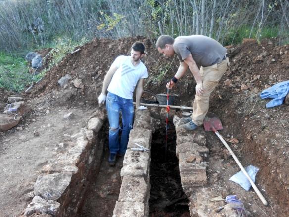Istraživanje kasnoantičkih grobova u Docima
