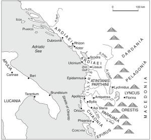 Mapa Ilirika