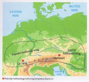 Područje halštatskoga kulturnog kompleksa
