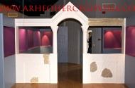 Rekonstrukcija predromaničke crkvene pregrade