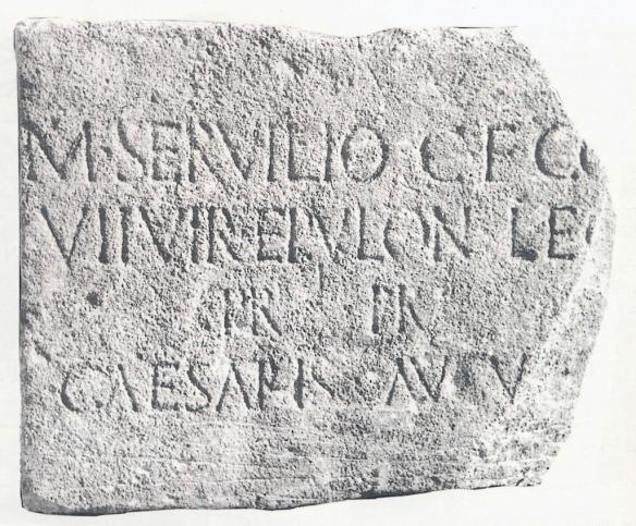 Rimski natpis iz Posuškoga Graca