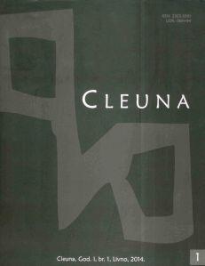 CLEUNA, naslovnica