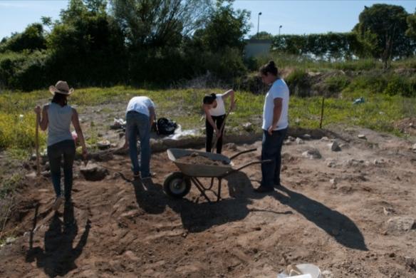 Arheološko istraživanje na lokalitetu Huremovača, Ljubuški, svibanj 2014.