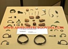 Fibule i nakit iz Kačnja, Muzej Hercegovine Trebinje