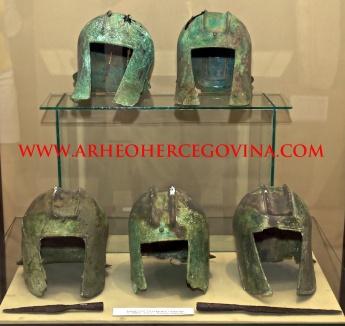 Brončane kacige iz Kačnja, Muzej Hercegovine Trebinje
