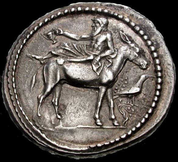 Dionis na tertradrahmi iz Mende