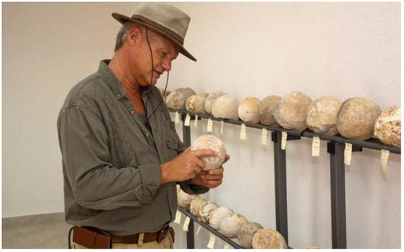 Kamene kugle u zbirci u Otrić-Seocima