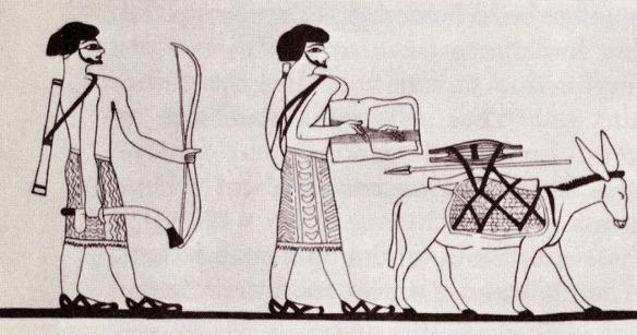 Prizor iz staroga Egipta