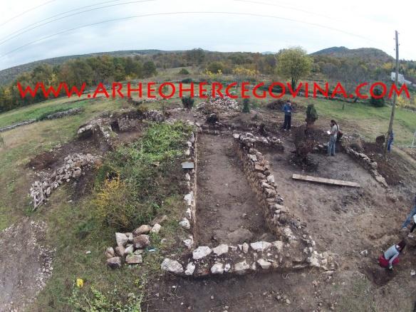 Kasnoantički kompleks na lokalitetu Šipkova glavica u Docima (foto: Z. Grizelj)