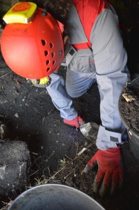 Detalji s istraživanja pećine Vilinka u Rakitnu (foto: Lj. Oreč)
