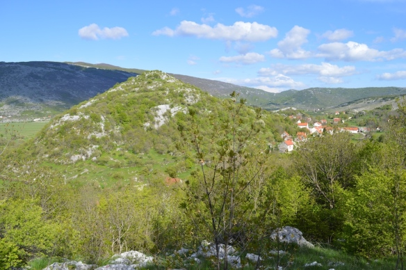 Pogled na gradinu Sutinu u Rakitnu (foto Lj. Oreč)