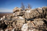 Obrambeni megalitski bedem, Martinovića gomila
