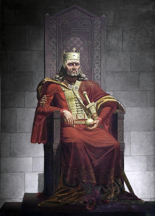 Josip Horvat, Kralj Tomislav na prijestolju