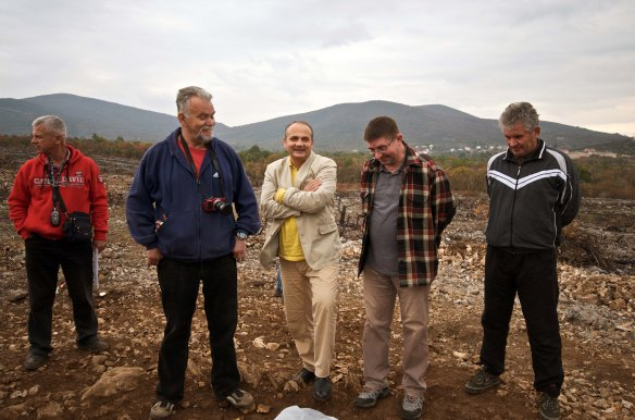 Radoslav Dodig (drugi slijeva) na terenskim istraživanjima 2011.