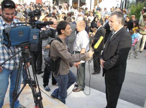 Radoslav Dodig intervju prigodom svečanog otvaranja AM Narona u Vidu 2007. foto: V. Marušić