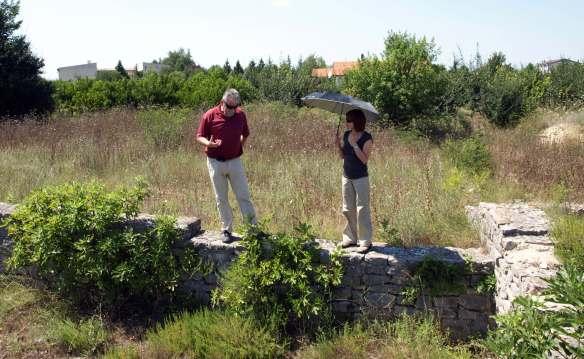 Radoslav Dodig i Branka Migotti u posjetu lokalitetu Gračine