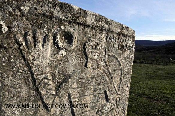 Srednjovjekovna nekropola Radimlja, Stolac, prije konzervatorskih zahvata.