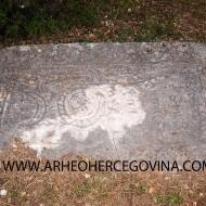 Ploča Ljubice Vlatkovice, Boljuni, Stolac