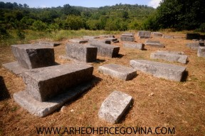 Srednjovjekovno groblje Boljuni, Stolac, istočni dio