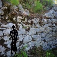 Najviši dio bedema na sjevernom dijelu rimske utvrde Kosmaj.