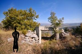 Bunker na gradinskom lokalitetu Ograđ